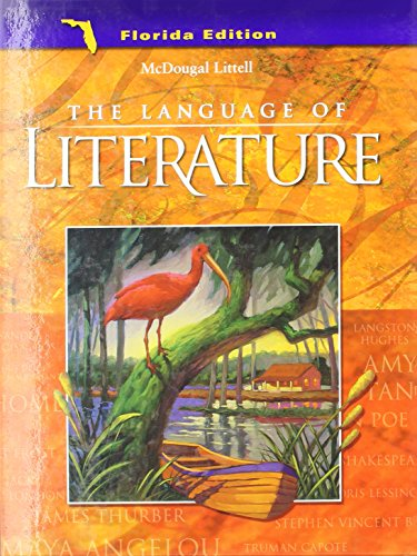 McDougal Littell Language of Literature Florida: Student: MCDOUGAL LITTEL
