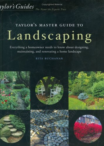 Taylor's Master Guide to Landscaping (0618055908) by Buchanan, Rita