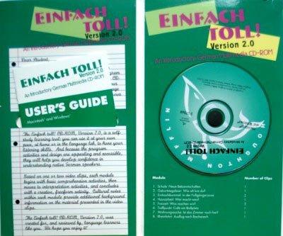 Einfach Toll!: An Introductory German, by Moeller, Version 2.0, CD-Rom Only: Moeller, Jack