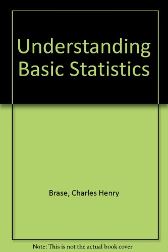 9780618060900: Understanding Basic Statistics Study and Solutions Guide: Second Edition