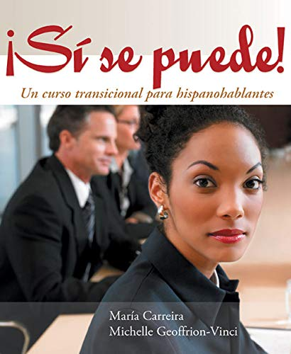 9780618061365: Si se puede!: Un curso transicional para hispanohablantes (World Languages) (English and Spanish Edition)