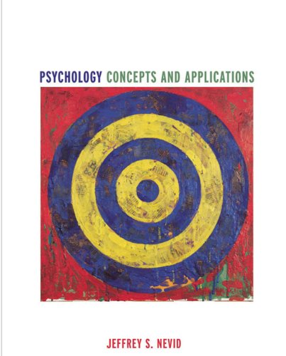 Psychology Concepts and Applications: Jeffrey S. Nevid