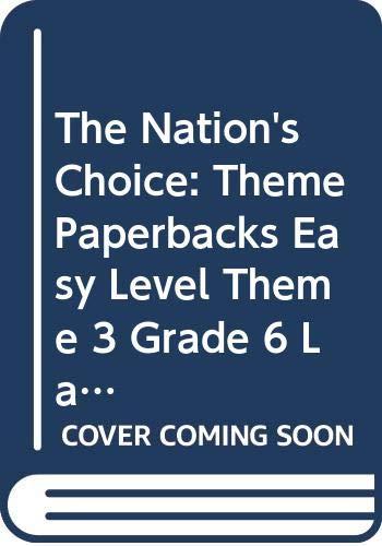 9780618062799: Houghton Mifflin Reading: The Nation's Choice: Theme Paperbacks, Below-Level Grade 6 Theme 3 - Later, Gator