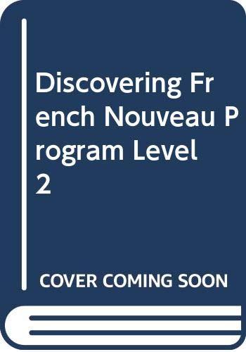 9780618063444: McDougal Littell Discovering French Nouveau: Audio CD Program Level 2