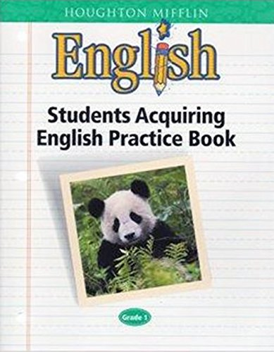 9780618063703: English: Students Acquiring English Practice Book: Grade 1