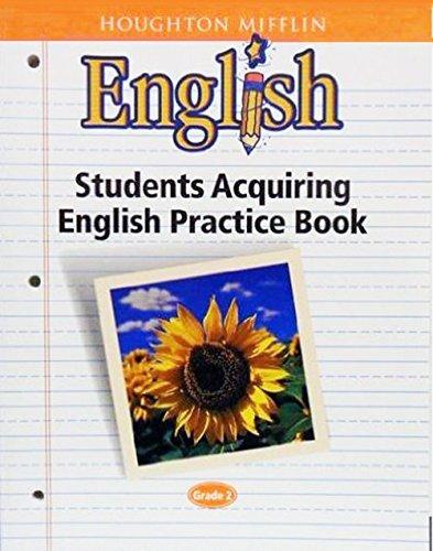 9780618063710: Houghton Mifflin English: Students Acquiring English Practice Book Blackline Masters Grade 2