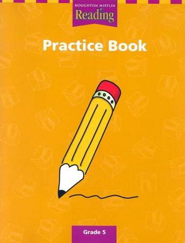 9780618064564: Houghton Mifflin Reading: The Nation's Choice: Practice Book (consumable) Grade 5