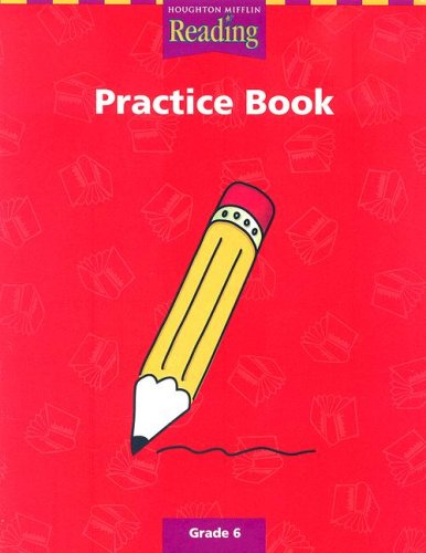 9780618064571: Reading Practice Book Grade 6 (Houghton Mifflin Reading a Legacy of Literature)