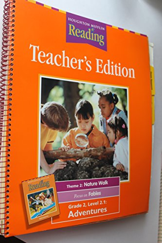 9780618065233: Houghton Mifflin Reading: Teacher's Edition (Grade 2, Theme 2: Nature Walk)