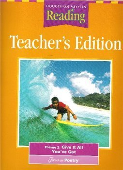 9780618065431: Houghton Mifflin Reading: Teacher's Edition: Theme 2: Give It All You've Got: Grade 5: Focus on Poet
