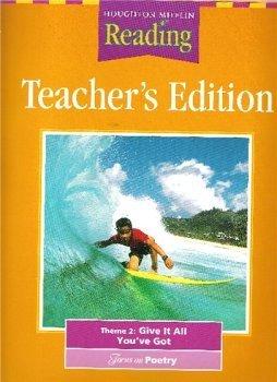 Houghton Mifflin Reading: Teacher's Edition: Theme 2: Give It All You've Got: Grade 5: ...
