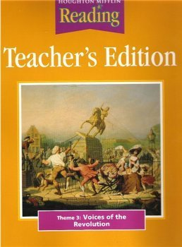 9780618065448: Houghton Mifflin Reading: Teacher's Edition: Theme 3: Voices of the Revolution/ Grade 5