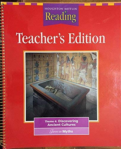 9780618065516: Houghton Mifflin Reading:Triumphs Grade 6 Teachers Edition (Theme 4: Discovering Ancient Cultures-Te