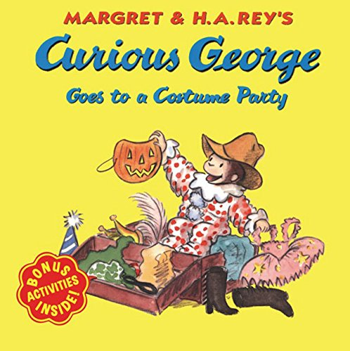 9780618065691: Curious George Goes to a Costume Party (Curious George 8x8)