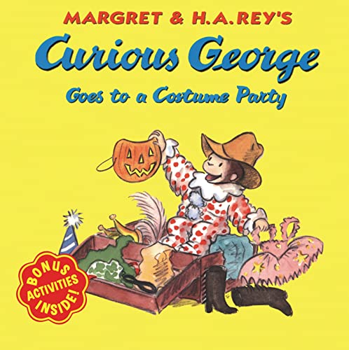 9780618065691: Curious George Goes to a Costume Party