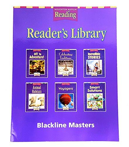 Houghton Mifflin Reading: The Nation's Choice: Reader's Library Blackline Masters Grade 3...