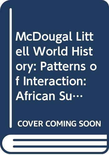 9780618068395: McDougal Littell World History: Patterns of Interaction: African Supplement PE Grades 9-12 Modern World History 2000