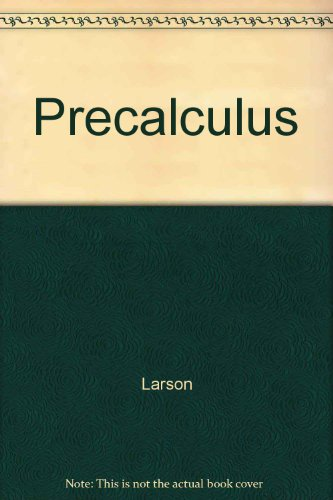 9780618072767: Interactive CD-ROM 2.0 for Larson/Hostetler's Precalculus, 5th