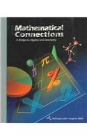 Mathematical Connections : A Bridge to Algebra: MCDOUGAL LITTEL