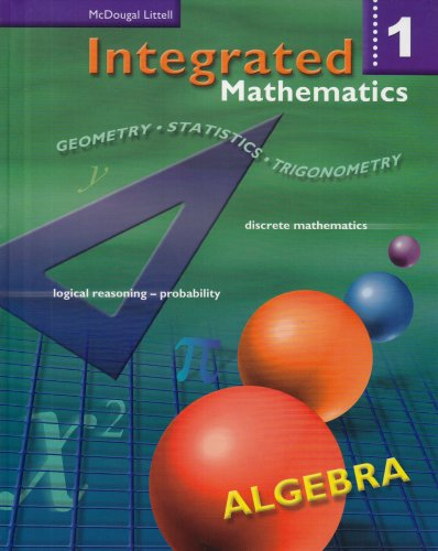 9780618073948: Integrated Mathematics: Student Edition Book 1 2002