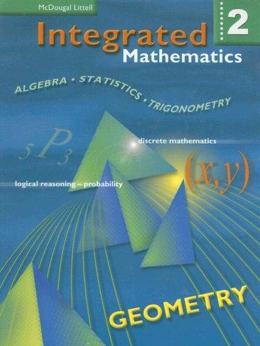 9780618073979: Integrated Mathematics 2