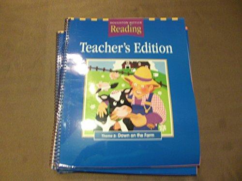 Theme 8: Down on the Farm (Teacher's Edition) (Grade K) (Houghton Mifflin Reading): Houghton ...