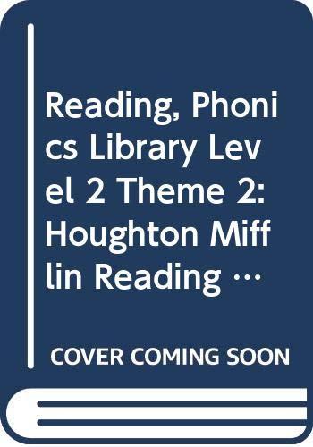 9780618075034: Houghton Mifflin Reading: Phonics Library Lv 2 Thm 2