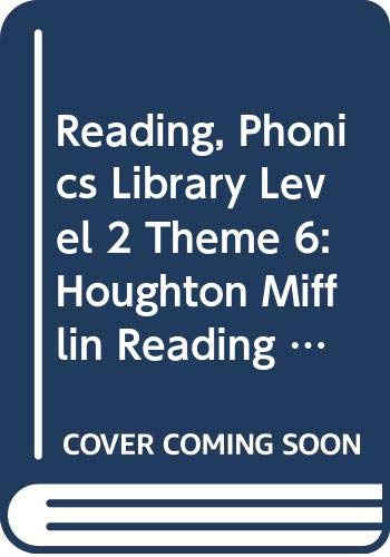 9780618075072: Houghton Mifflin Reading: Phonics Library Lv 2 Thm 6