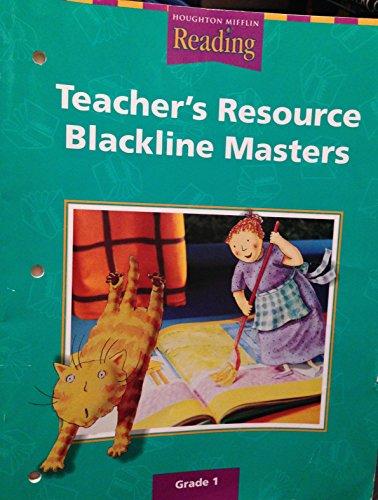 9780618075270: Houghton Mifflin Reading: Teacher's Resource Blackline Masters, Grade 1
