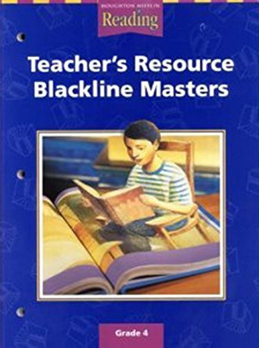 9780618075300: Houghton Mifflin Reading: The Nation's Choice: Teacher's Resource Blackline Masters Grade 4