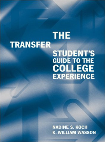9780618077168: The Transfer Student's Guide to the College Experience