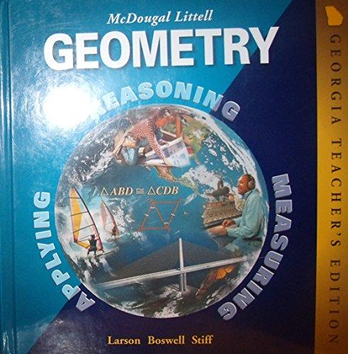 9780618077274: Geometry (Georgia Teacher's Edition)