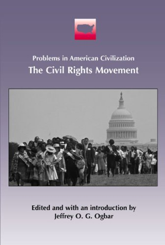 The Civil Rights Movement (Problems in American: Editor-Jeffrey O. G.