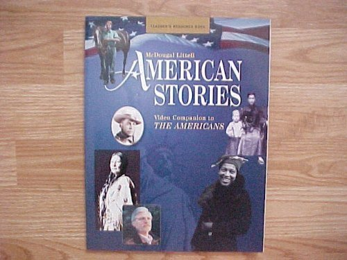 9780618077953: American Stories (Video Companion to the Americans, Teacher's Resource Book)