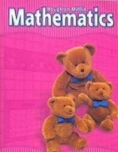 9780618081745: Houghton Mifflin Mathmatics California: Student Edition Level K 2002