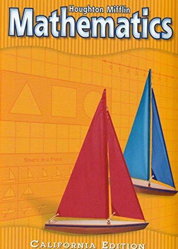 Houghton Mifflin Mathmatics California: Student Edition Level 1 2002: MIFFLIN, HOUGHTON