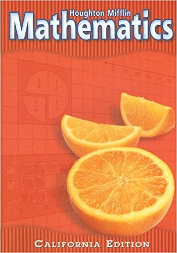 9780618081769: Houghton Mifflin Mathmatics: Student Edition Level 2 2002