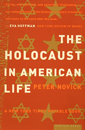 9780618082322: The Holocaust in American Life