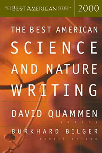 9780618082957: The Best American Science & Nature Writing 2000