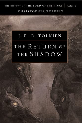 9780618083572: The Return of the Shadow (The History of the Lord of the Rings, Part 1)