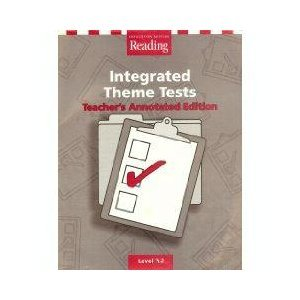 9780618084647: Houghton Mifflin Reading: Integrated Theme Tests, Level 3.2, Teacher's Annotated Edition (Houghton Mifflin Reading: The Nation's Choice)