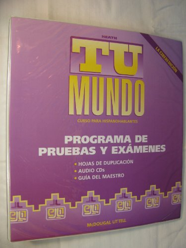 9780618086429: McDougal Littell Tu mundo Nuestro mundo: Complete Program with audio CD Tu Mundo Grades 9-12 (Spanish Edition)