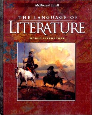 9780618087181: McDougal Littell Language of Literature: Student Edition World Literature 2002