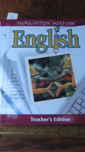 9780618087488: Houghton Mifflin English, Grade 7, Teacher's Edition