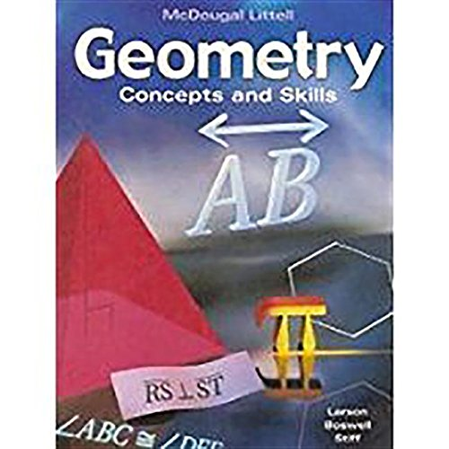 9780618087587: Geometry: Concepts & Skills