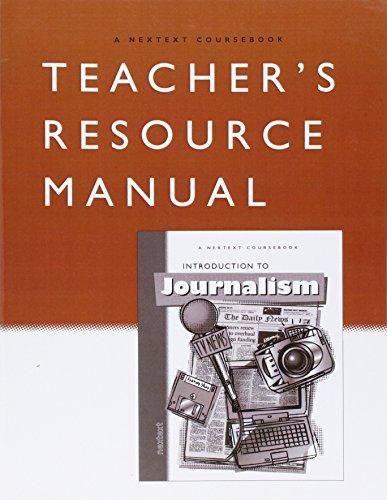 9780618087716: Nextext Coursebooks: Introduction to Journalism Teacher's Resource Manual