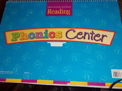 9780618089758: Houghton Mifflin Reading: The Nation's Choice: Phonics Center Flip Chart Grade K