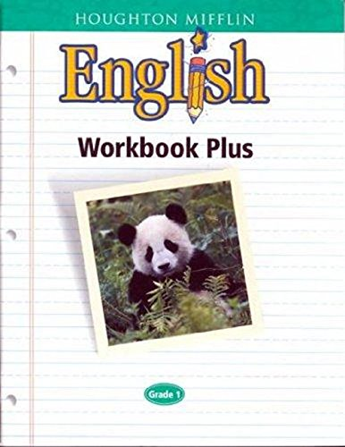 9780618090600: Houghton Mifflin English: Workbook Plus Consumable Level 1