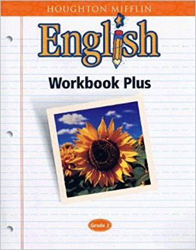 9780618090617: Houghton Mifflin English: Workbook Plus Grade 2