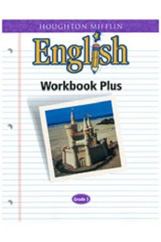 9780618090624: Houghton Mifflin English: Workbook Plus Grade 3